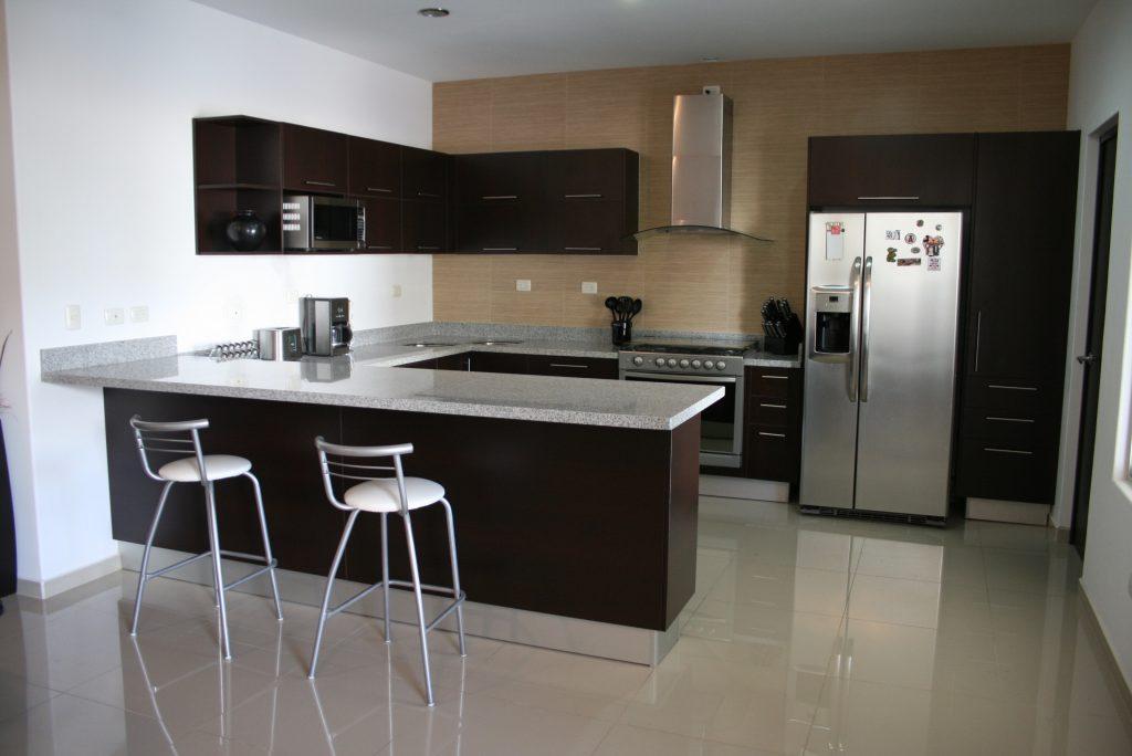 Cocina chocolate - Cocinas con granito ...