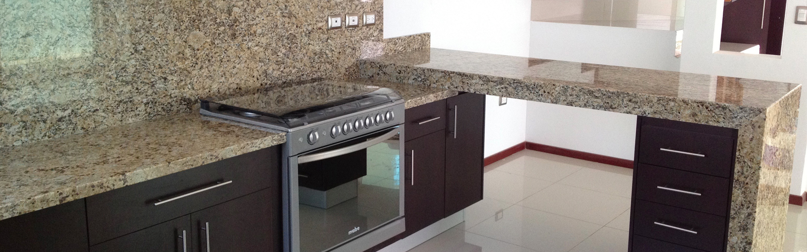 Cocina de granito